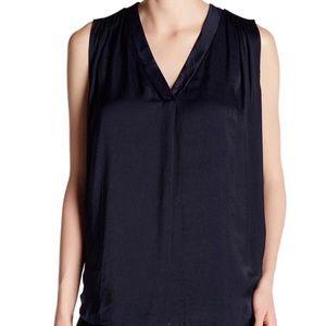 Shirred Shoulder Sleeveless Top